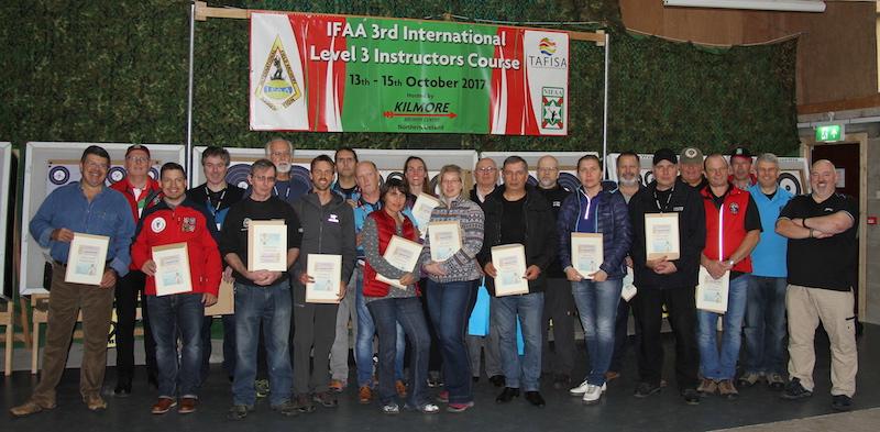 IFAA инструктори ниво III